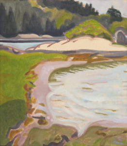 Cicely Aikman, The Cove, oil